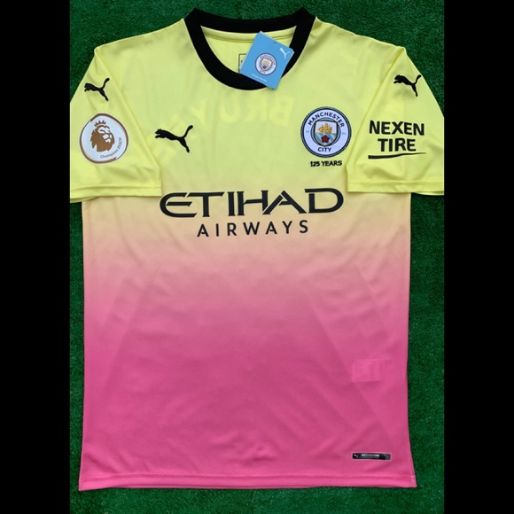 size 40 99999 2c88c 2019/20 Manchester City 3rd kit soccer jersey Puma NWT
